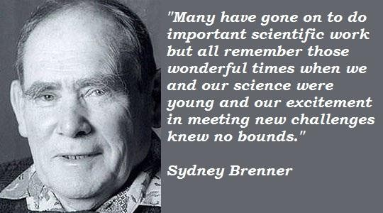 Sydney Brenner's quote #3