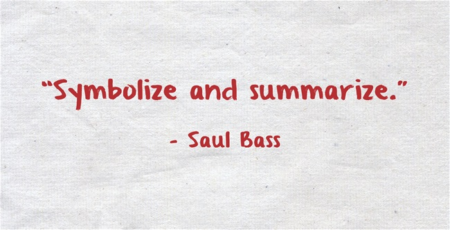 Symbolize quote #1