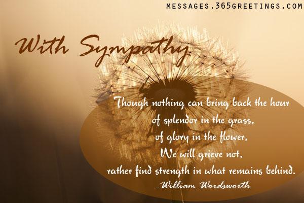 Sympathy quote #3