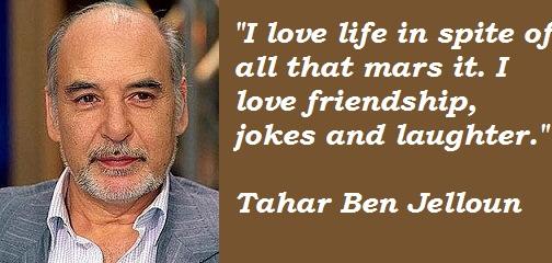 Tahar Ben Jelloun's quote #4