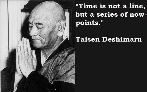 Taisen Deshimaru's quote