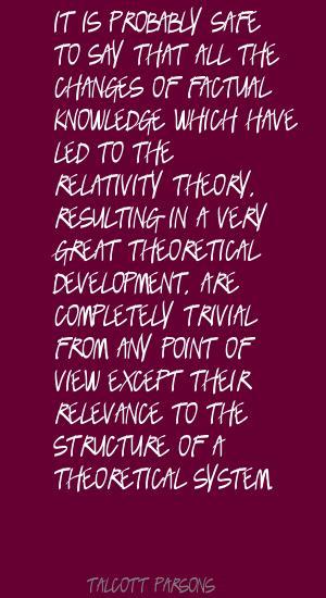 Talcott Parsons's quote #4