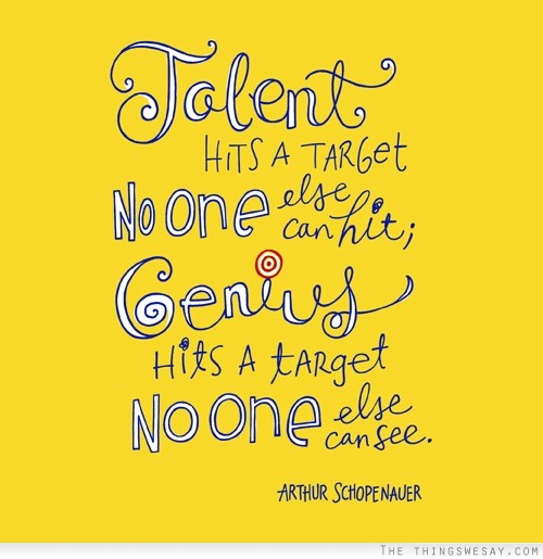 Talent quote #6