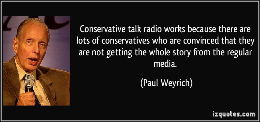 Talk Radio quote #2