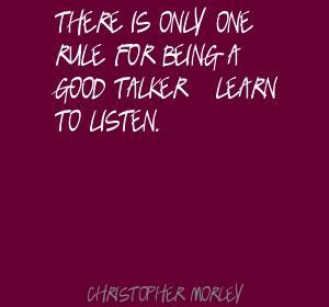 Talker quote #1
