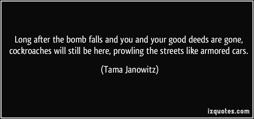 Tama Janowitz's quote #2