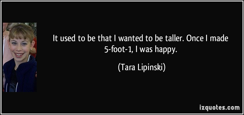 My Favorite Quotes By Tara Winkler: Tara Lipinski's Quotes, Famous And Not Much