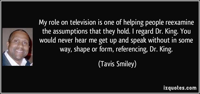 Tavis Smiley's quote