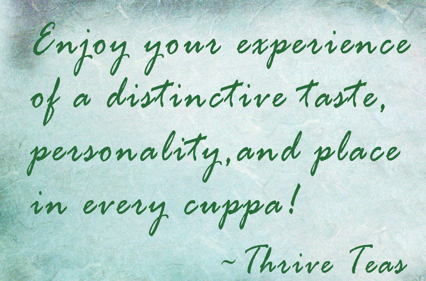 Tea quote #3