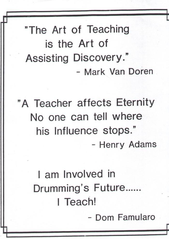 Teach quote #6