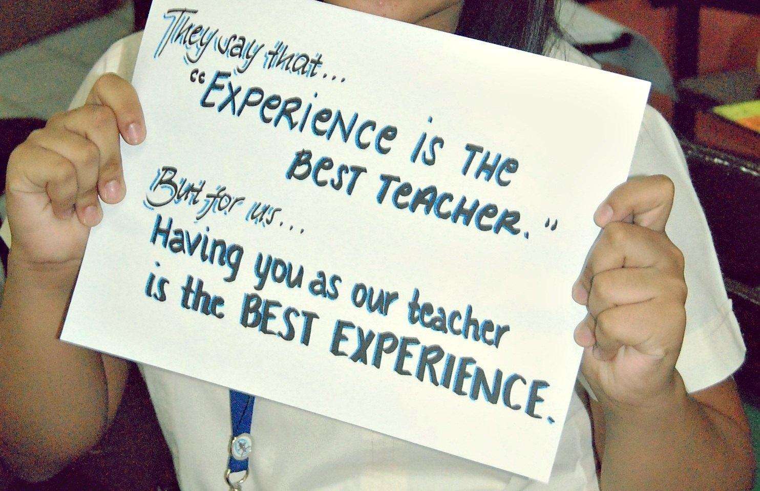 Teachers quote #4