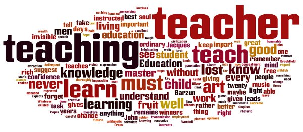 Teachings quote #1