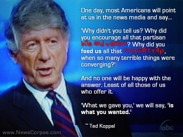 Ted Koppel's quote #4