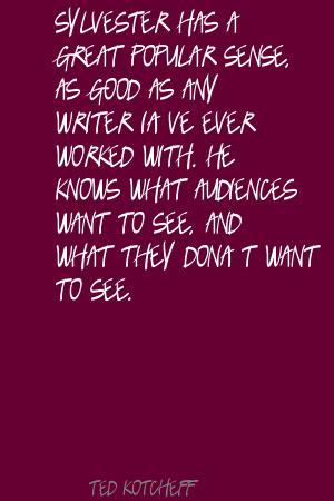 Ted Kotcheff's quote #5