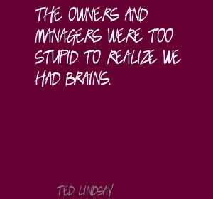 Ted Lindsay's quote #4