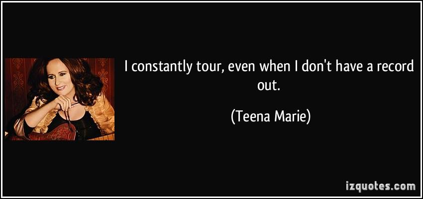 Teena Marie's quote #7