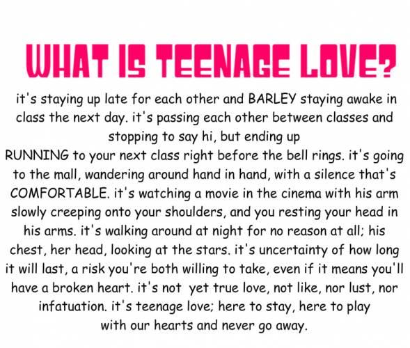 Teenage quote #1