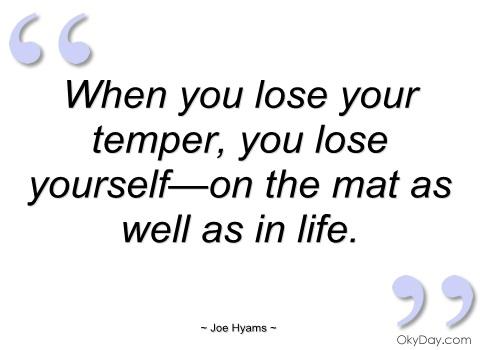 Temper quote #3
