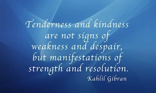 Tenderness quote #2