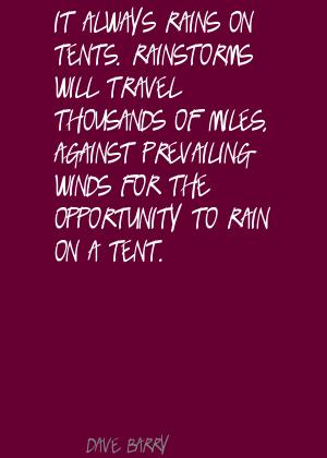 Tents quote #1