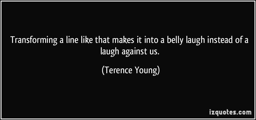 Terence Young's quote #5