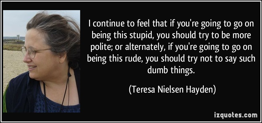 Teresa Nielsen Hayden's quote #2