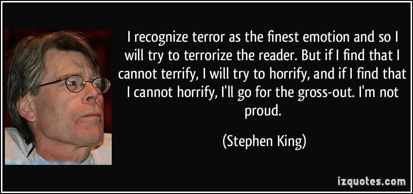 Terrify quote #1