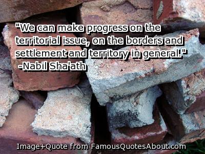 Territorial quote #2