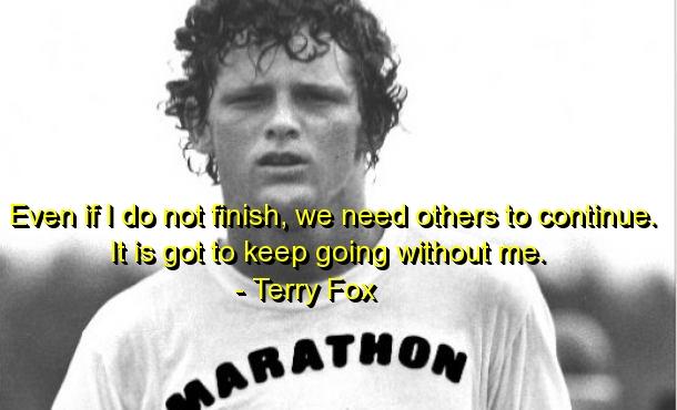 Terry Fox's quote #2