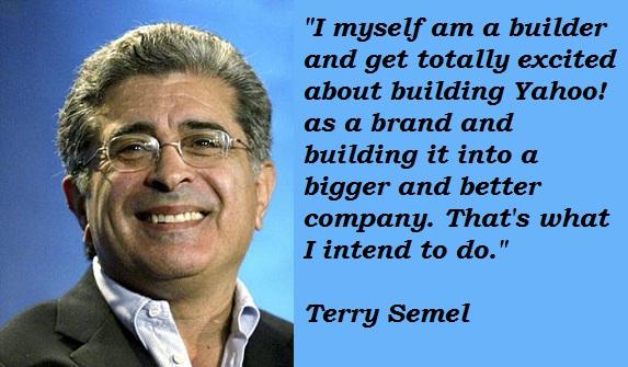 Terry Semel's quote #2