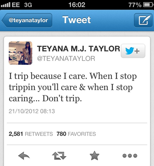 Teyana Taylor's quote #5