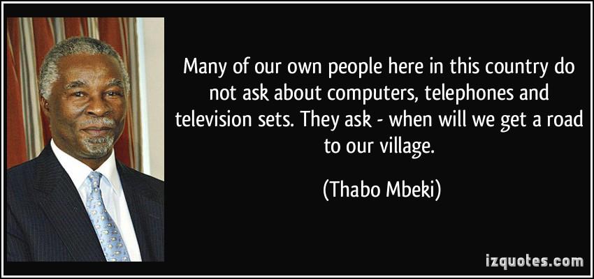 Thabo Mbeki's quote #5