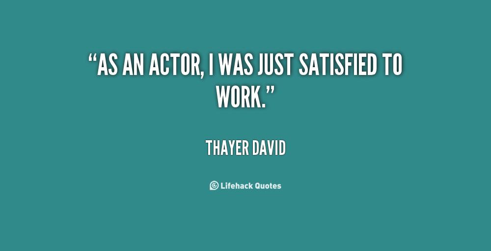 Thayer David's quote #2