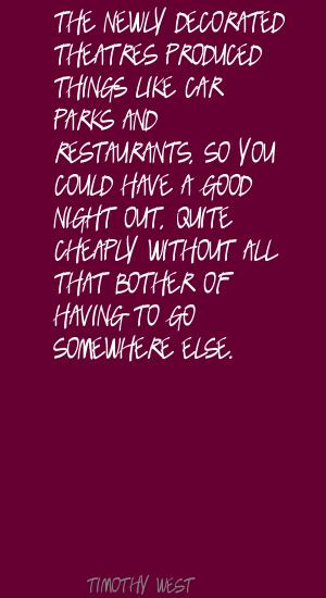 Theatres quote #1