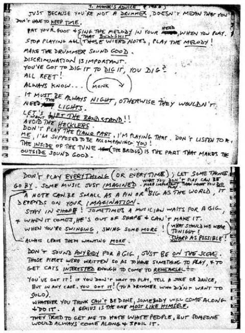 Thelonious Monk's quote #2