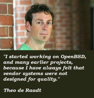 Theo de Raadt's quote #3