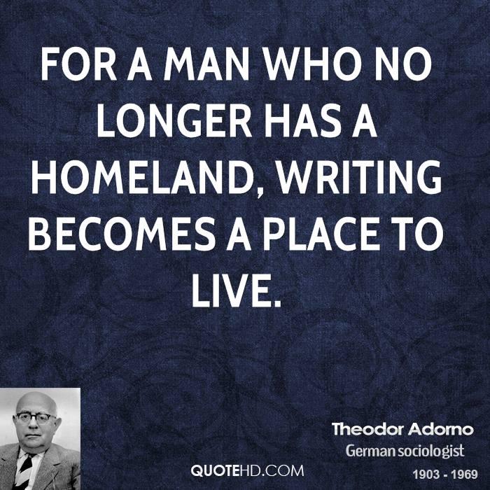 Theodor Adorno's quote #4