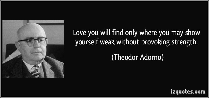 Theodor Adorno's quote #3