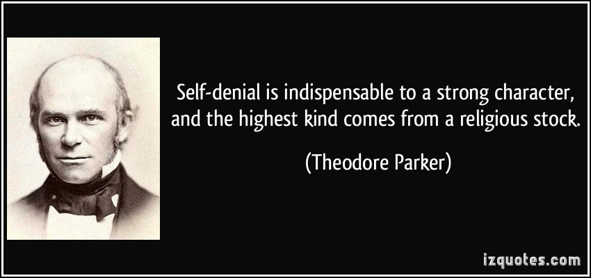 Theodore Parker's quote