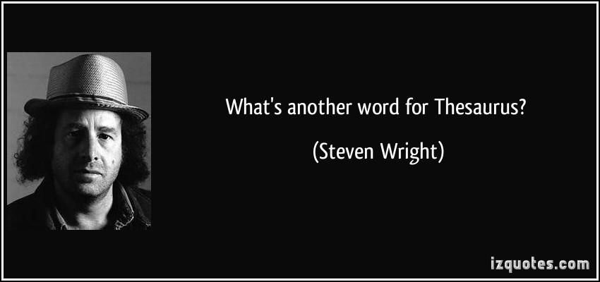 Thesaurus quote #2