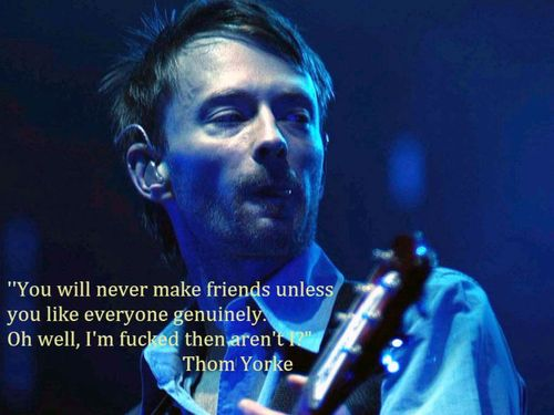 Thom Yorke's quote #1