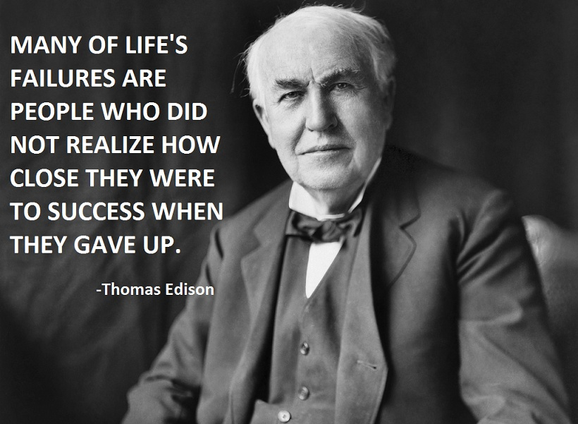 Thomas A. Edison's quote #6