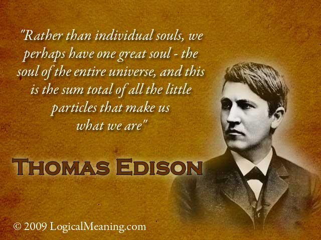 Thomas A. Edison's quote #7