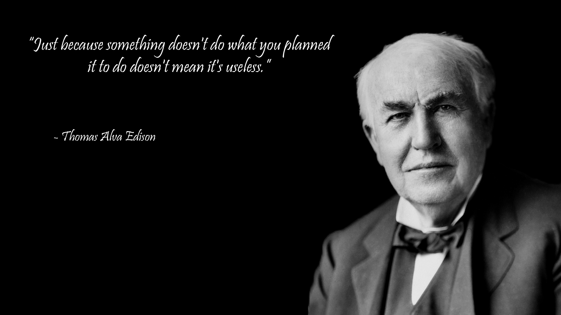 Thomas A. Edison's quote #4