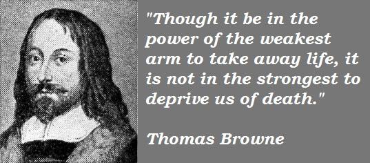 Thomas Browne's quote #3