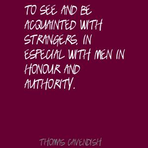 Thomas Cavendish's quote #5
