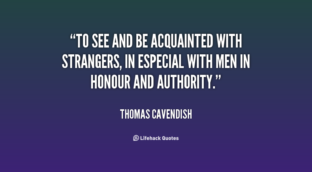 Thomas Cavendish's quote #6