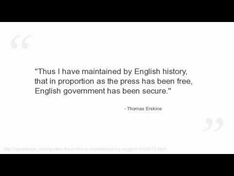 Thomas Erskine's quote #2