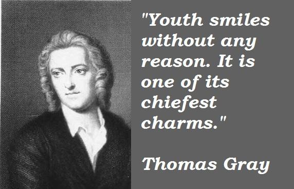 Thomas Gray's quote #3