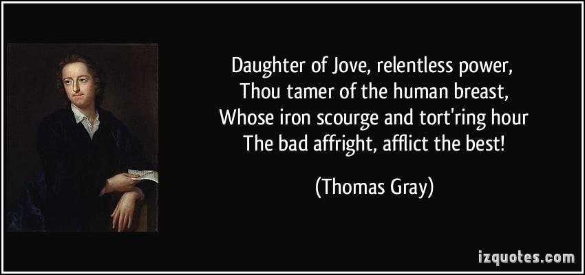 Thomas Gray's quote #1